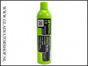 Nuprol premium 3.0 (red) green airsoft gas 500ml
