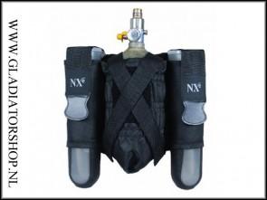 NXe SP Series 2+1 pod pouche zwart