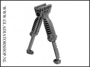 Warrior T-Pod Foregrip Bipod Zwart