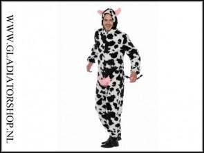 "Paintball ""piggyhunt"" dieren pak koe zwart wit"