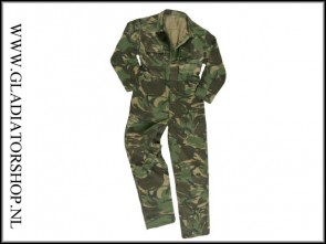 Paintball overall camo maat 50