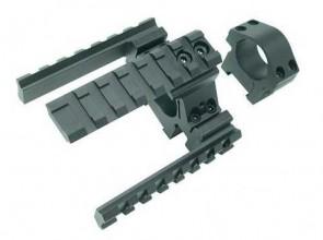 (O) UTG picatinny tri rail weaver mount