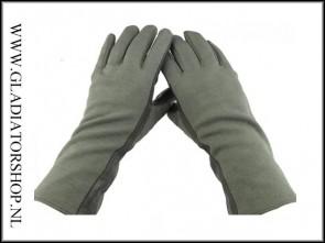 Dupont piloten handschoen in de kleur olive groen