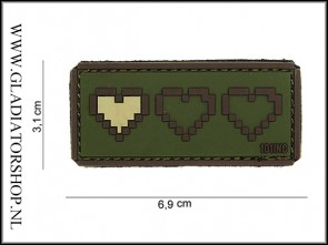 PVC Velcro Patch: Last Life Groen