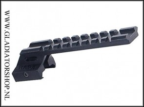 Rap4 21mm weaver tactical see through rail sight