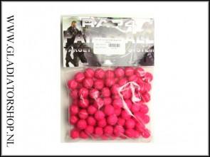 Rap4 target practice balls rood 100 stuks