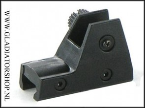 Rap4 Tippmann X7 rear sight