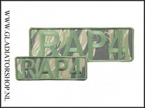 Rap4 velcro patch Tiger Stripe