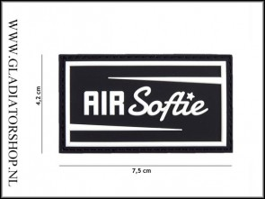 PVC Velcro Patch: Air Softie