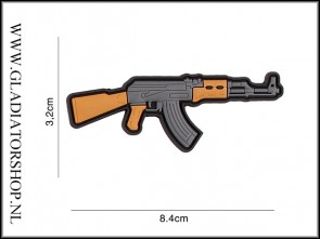 PVC Velcro Patch: AK47