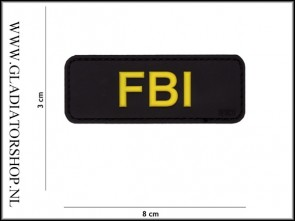 PVC Velcro Patch: FBI
