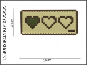PVC Velcro Patch: Last Life Beige