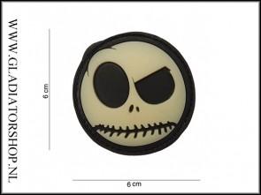 PVC Velcro Patch: Nightmare Smiley