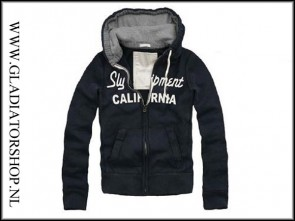 Sly Calafornia hoodie blauw maat S