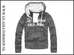 Sly Calafornia hoodie grijs maat S