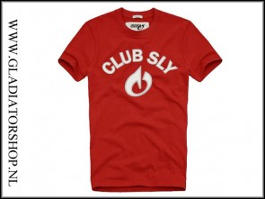 Sly T-shirt Club rood maat XL