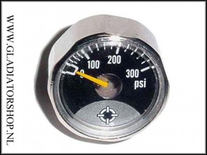 Warrior regulator micro gauge 300 psi