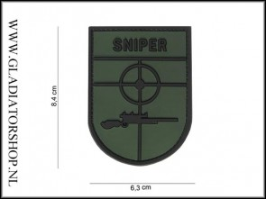 PVC Velcro Patch: Sniper