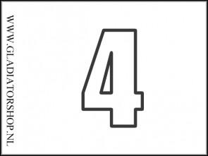 Hopper speler nummer - 4