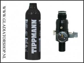 Tippmann 0,4L 200 bar perslucht fles inclusief regulator