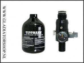 Tippmann 0,4L 200 bar tubby perslucht fles inclusief regulator