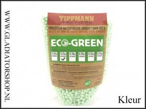 Tippmann Tactical Airsoft 6mm Eco BB 0.25gram, kleur groen, 4000 stuks