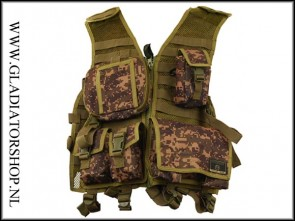 Tippmann Assault tactical vest digital camo