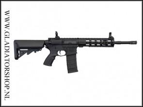 Tippmann Commando AEG Carbine 14,5 inch zwart Airsoft
