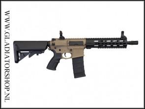 Tippmann Commando AEG CQB 10,5 inch zwart en/of desert Airsoft