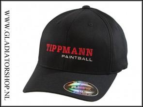 Tippmann Paintball logo cap zwart S/M