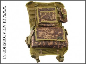 Tippmann Patrol tactical vest digital camo