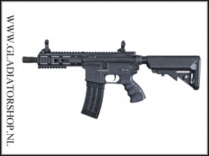Tippmann Recon AEG Shorty 6 inch zwart Airsoft