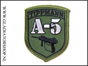 Tippmann velcro patch: Tippmann A5