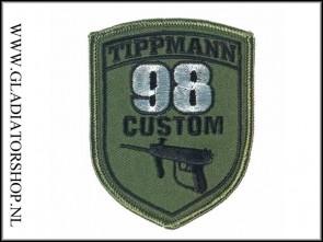 Tippmann velcro patch: Tippmann M98
