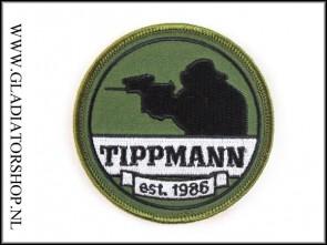 Tippmann velcro patch: Tippmann 1986