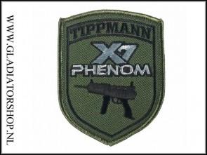 Tippmann velcro patch: Tippmann X7