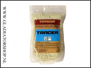 Tippmann Tactical Airsoft 6mm Tracer BB 0.20 gram, 5000 stuks