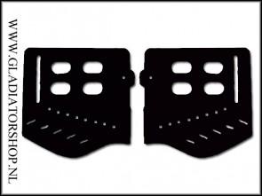 Trinity soft ear piece kit zwart