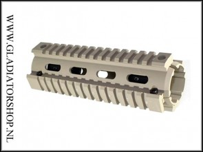 Warrior Insane Gen2 Quad Rail Shroud Tan / Khaki