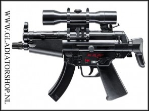 Heckler & Koch mini MP5 0,08 joules kinder airsoft