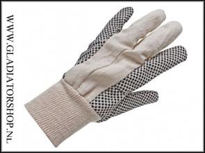 Universele katoenen handschoenen wit