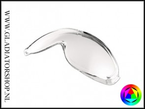 Uvex Ultrasonic replacement lens is anti-condens & krasvrij