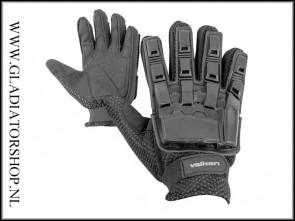 Valken Hardback Full Vinger Handschoen Zwart