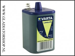 Varta 6 volt batterij