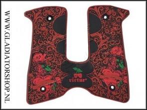 Virtue DP grip Love Kills rood