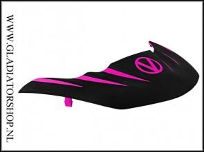 Virtue Vio Stealth visor zwart roze