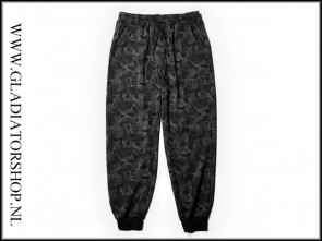 Warrior Night Camo fleece stretch broek 7XL