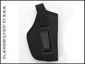 Warrior compact heupholster zwart