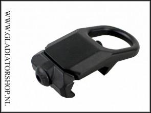 Warrior picatinny sling adapter