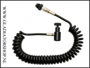 Warrior remote coiled hose zonder slide check